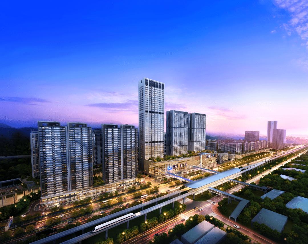 塘朗城, 深圳南山區